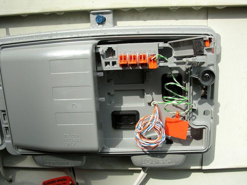 Splitter Rj11 Jack Wiring Diagram U Verse Phone Box Wiring Diagram U Verse Pinterest