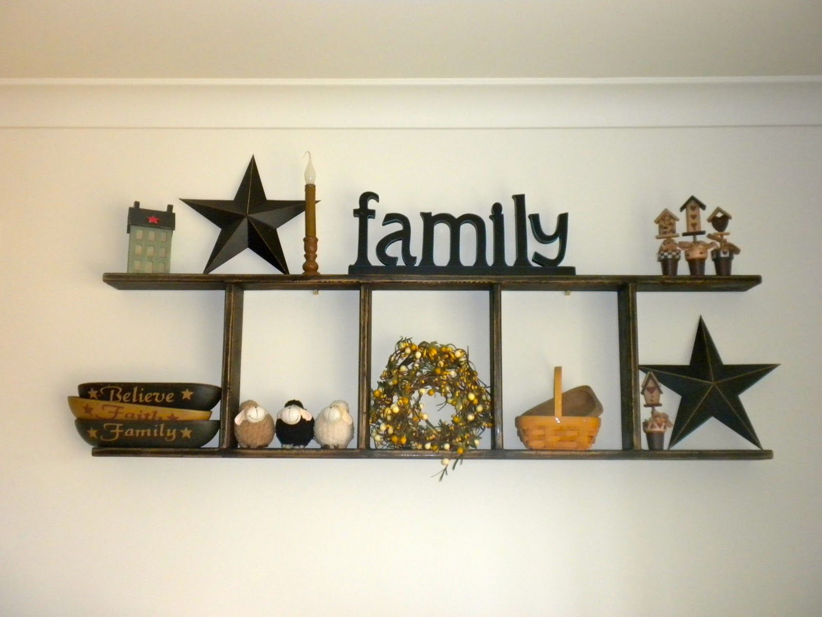 Simply Primitive Decorating Ideas Condition And Make