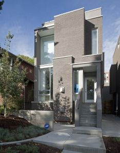 Exterior of the hannon richards street infill located in bankview calgary residential davignon martin architecture interior design also  rh pinterest
