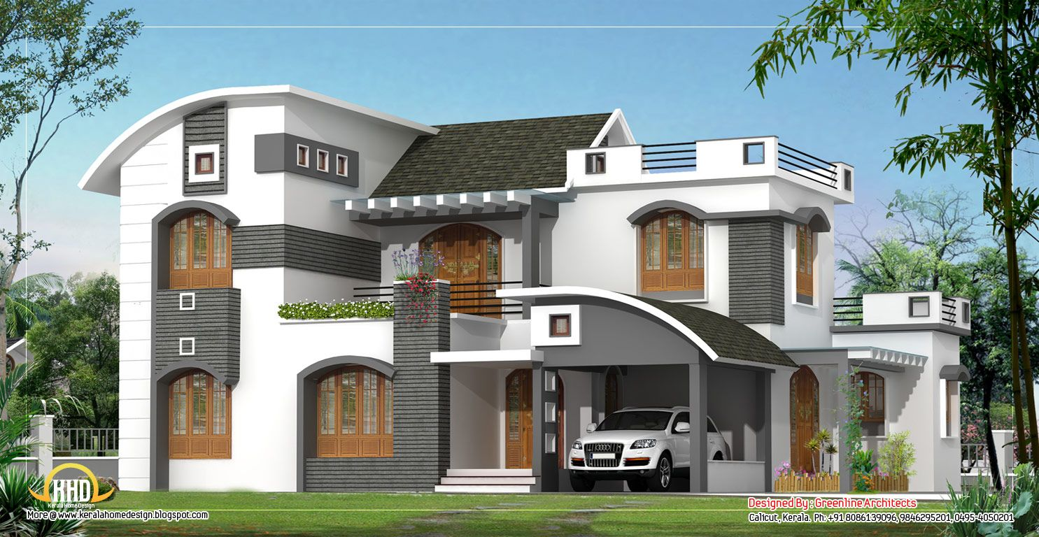 February Kerala Home Design Floor Plans Modern House Plans Designs