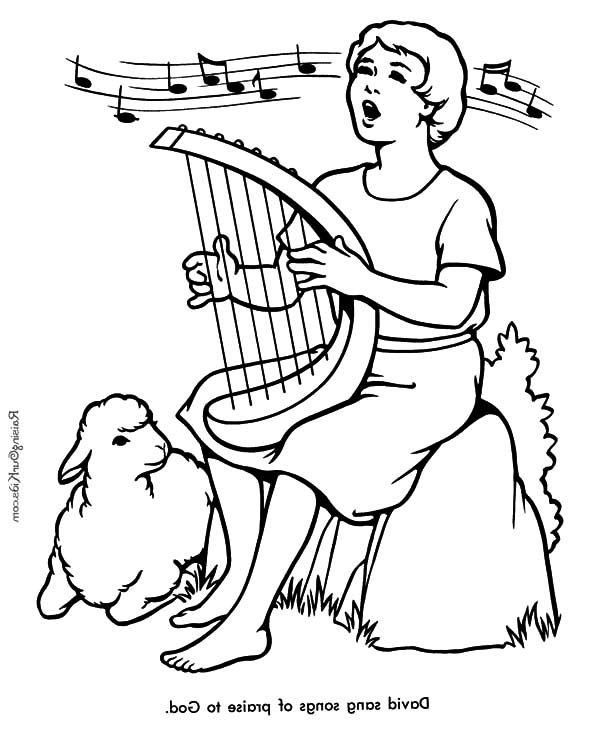 David The Shepherd Boy, : David the Shepherd Boy Sing a