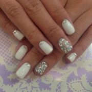 ideas bling nail