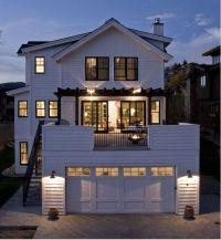 Balcony above garage | Home ideas | Pinterest | Balconies ...