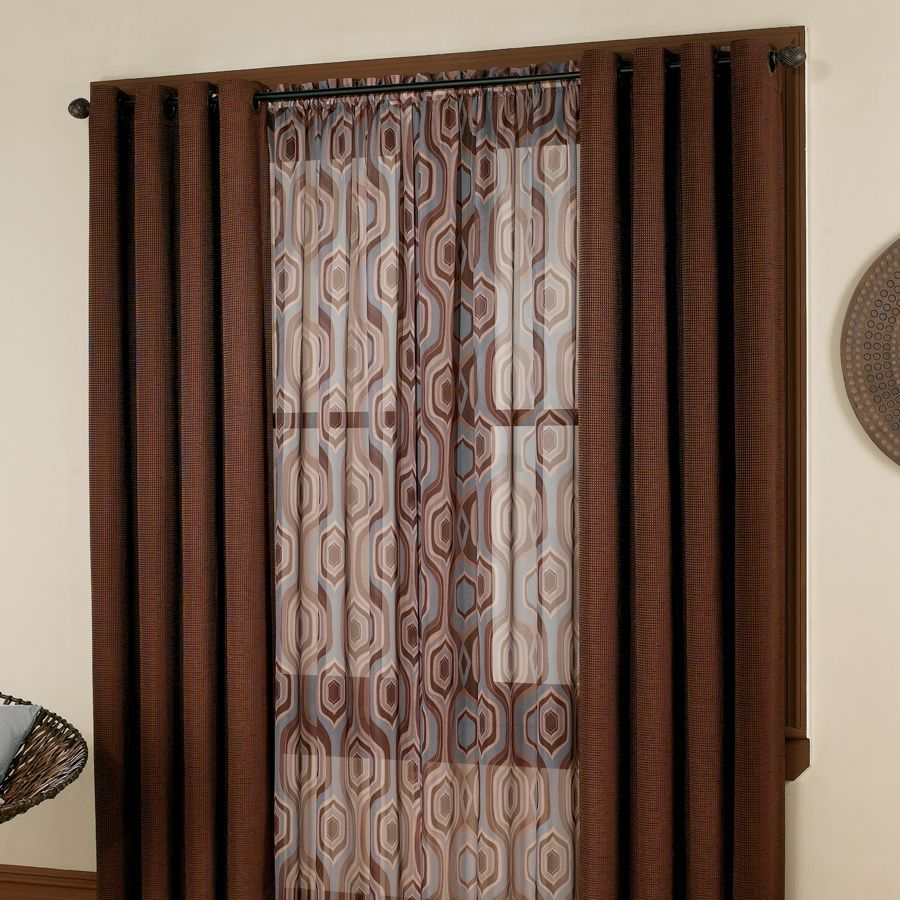 hanging drapes and panels  How to hang grommet panel