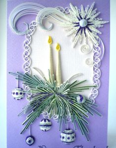 Quilled card cards pinterest beautiful quilling and christmas also rh