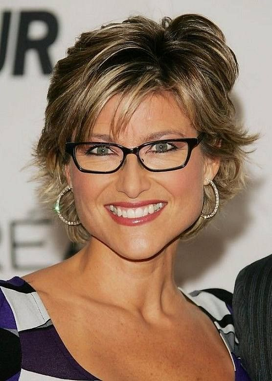 Short Hairstyles Over 50 With Glasses Hairstyle For Women