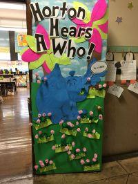 Horton Hears A Who Classroom Door Display | Dr Suess ...