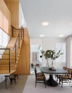 Manhattan rooftop duplex interior design by shelton mindel  associates also best awards projects stair pinterest rh