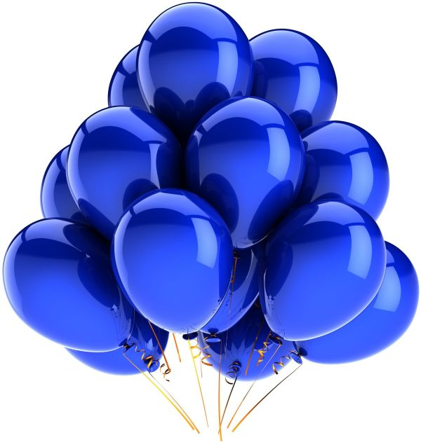 balloons blue continue
