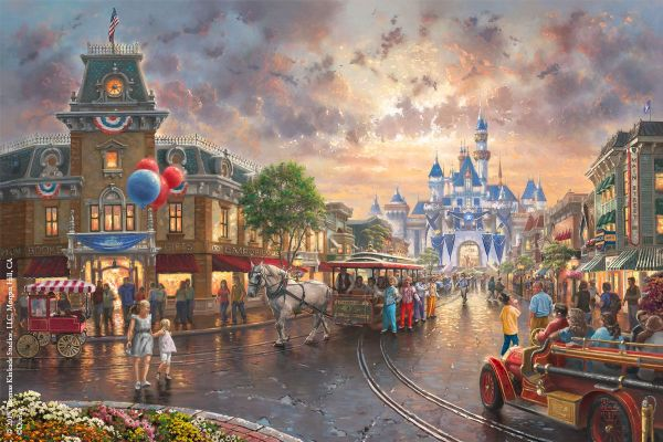 Disneyland 60th Anniversary Limited Edition Art