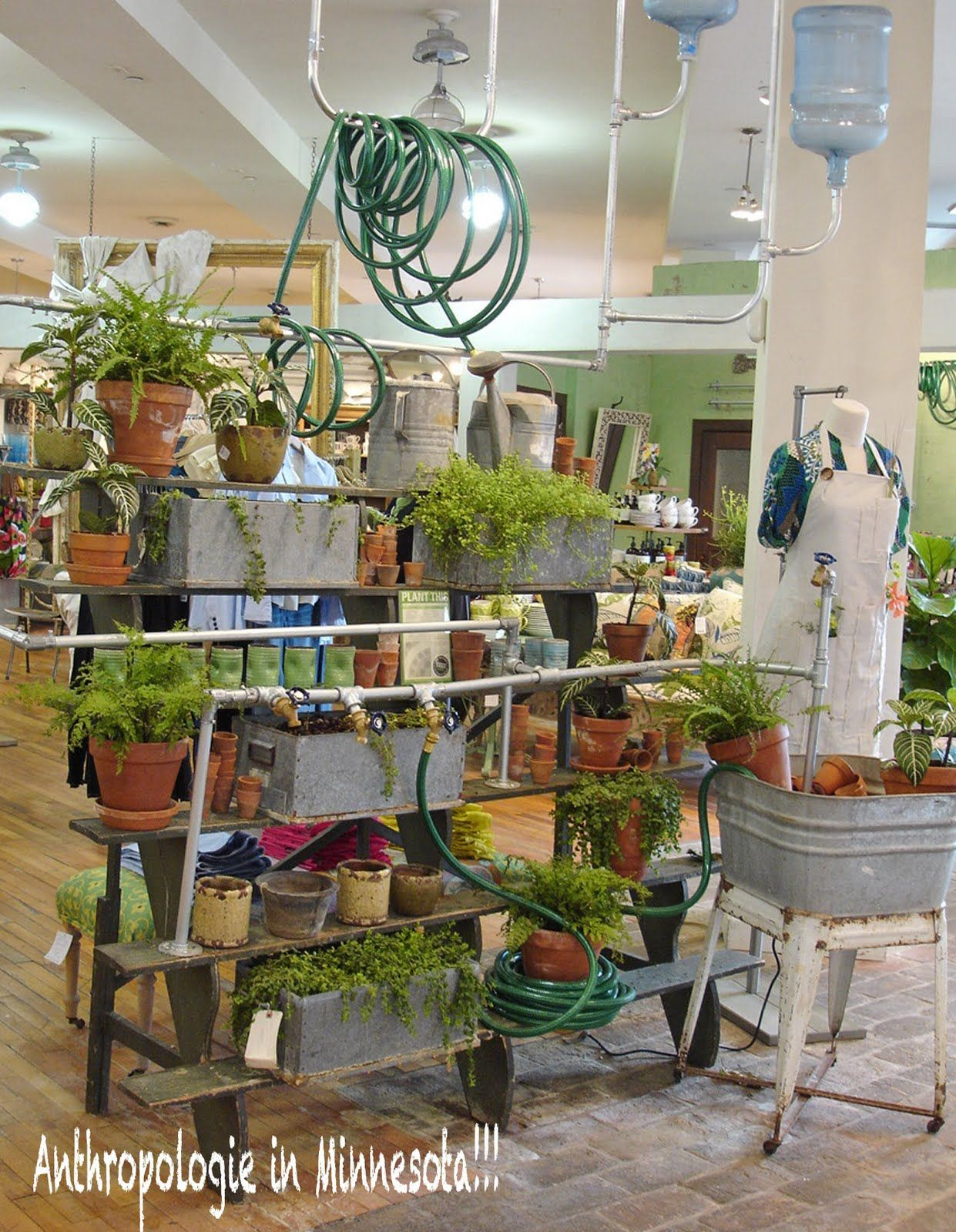 Anthropologie Garden Display Ideas Pinterest Bahçeler Ve