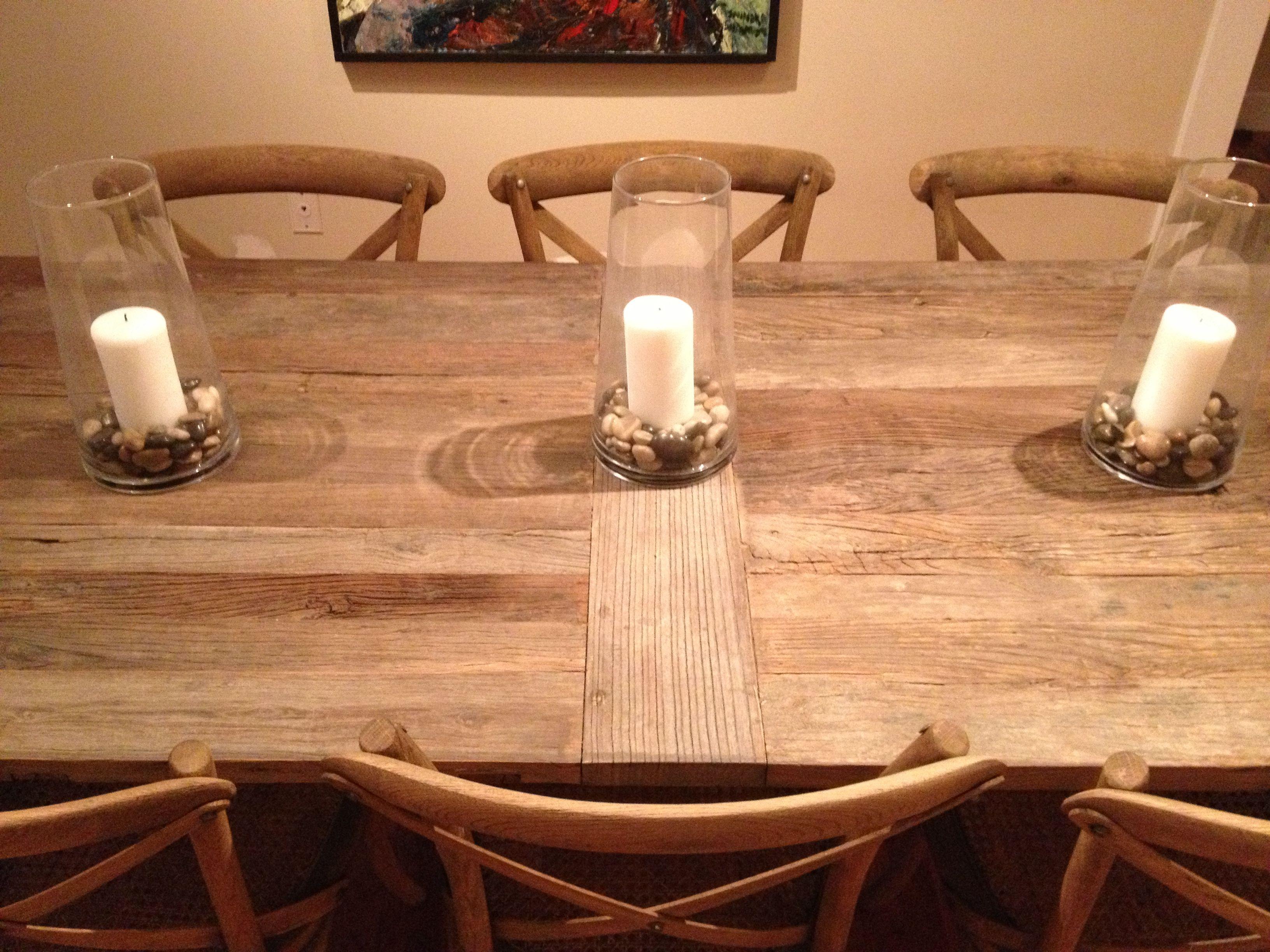 restoration hardware kitchen table travertine tile for backsplash in flatiron dining with madeleine side chairs from