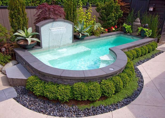small pool ideas to turn backyards into relaxing retreats also