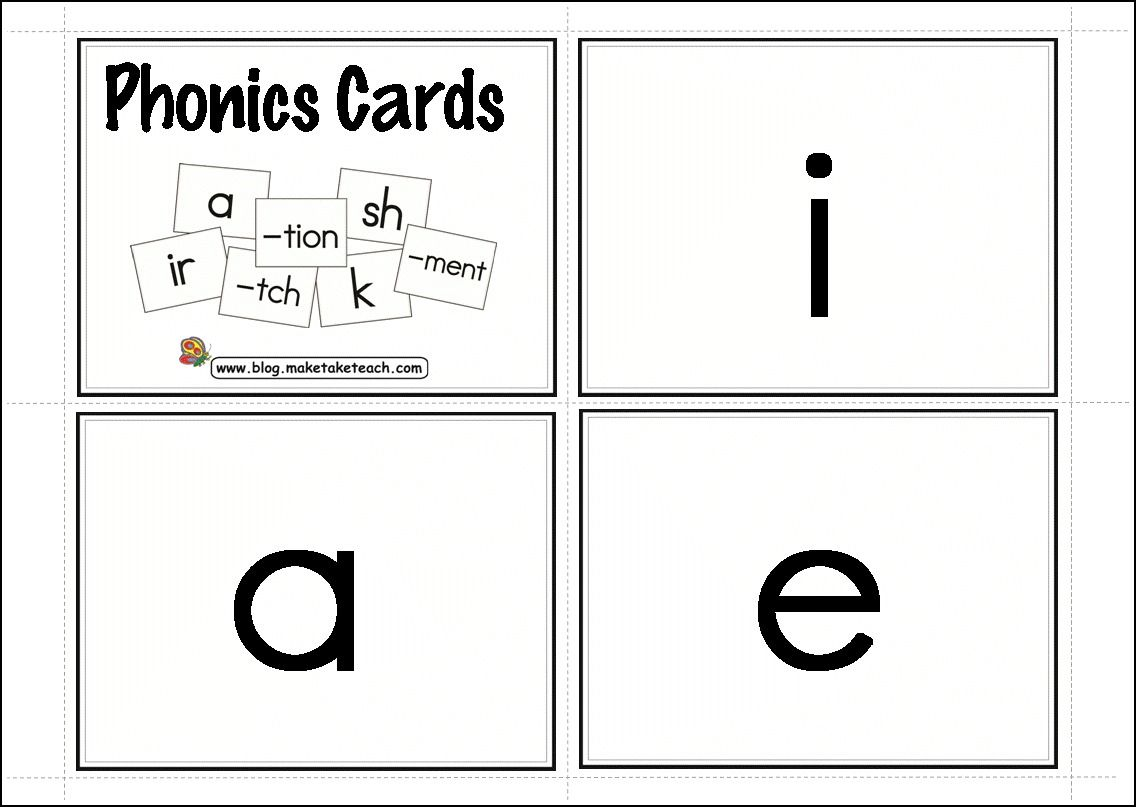 154 Free Phonics Cards Key Words On The Back Vowels Consonants Digraphs R Controlled Vowels