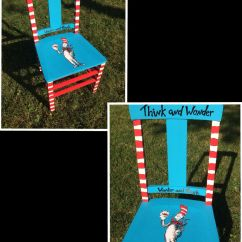Dr Seuss Chair Shampoo And Bowl Painted Diy Classroom Ideas Pinterest
