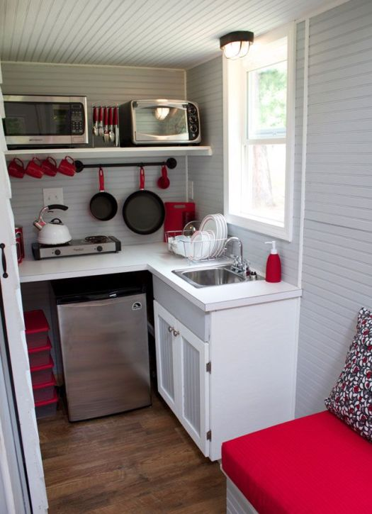 Tiny House Kitchen To Connect With Us And Our Community Of People From Australia