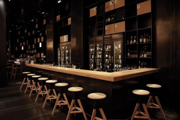 Hungarian wine bar interior design ideas  project stoer  Pinterest  Bar interior Bar