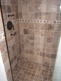 Tile shower   For the Home   Pinterest   Tile showers ...