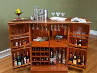 custom-fold-out-bar-cabinet.jpg (800600) | liquor cabinet ...