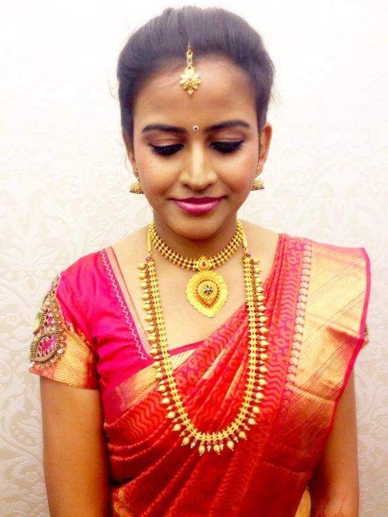 Engagement Look For South Indian Bride #SouthIndianBride South