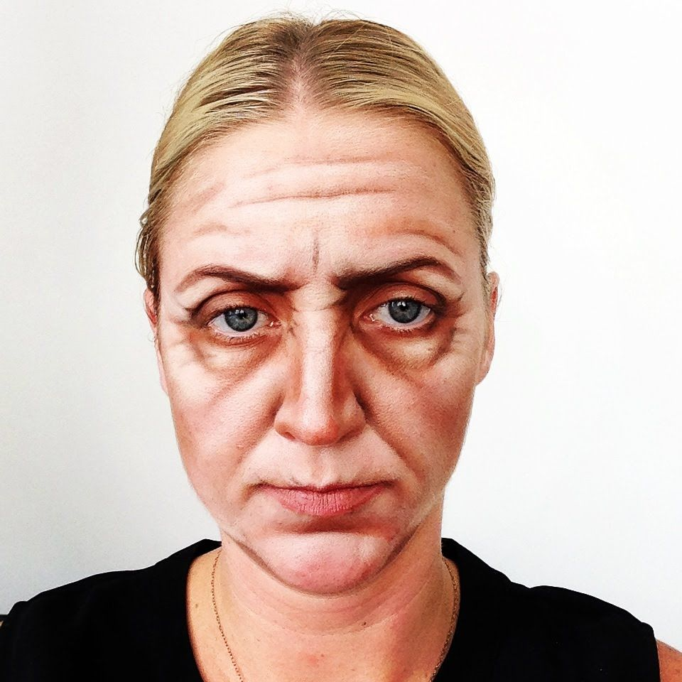 How Do Do An Old Age Makeup Video Tutorial (1038