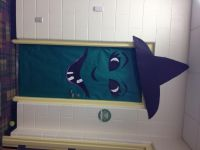 Witch classroom door!