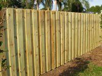 Board on Board Fencing