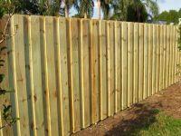 Board on Board Fencing | Fence | Pinterest | Wood fences ...