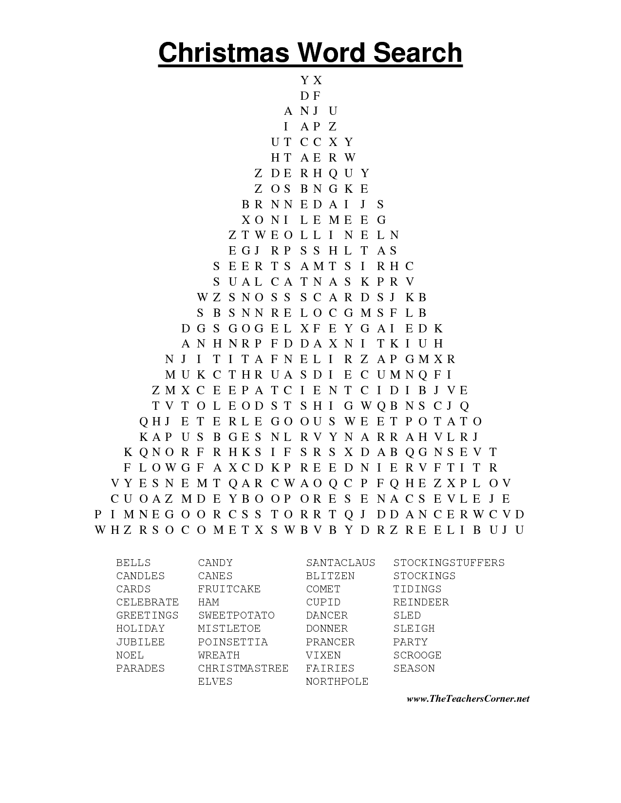 Search Word Puzzles