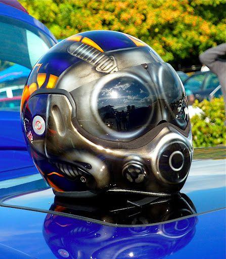 Custom Painted Helmet Great Work Allsporthelmets Com Sport Helmets For