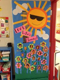 New Classroom Door Decor for Spring | School stuff ...