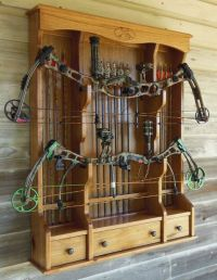 Bow Cabinet or Archery Cabinet | Outdoor stuff | Pinterest ...
