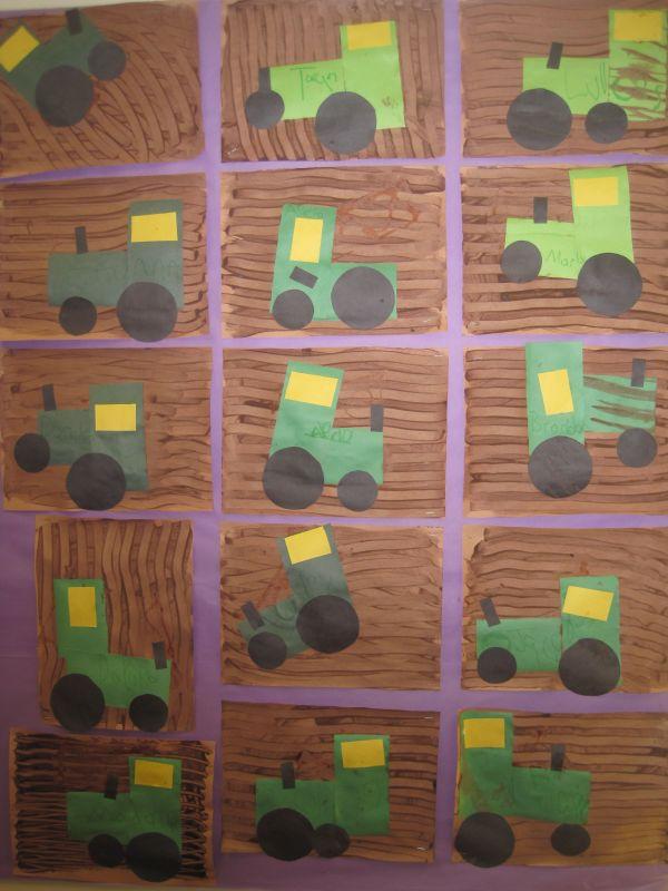 Preschool Farm Theme Crafts