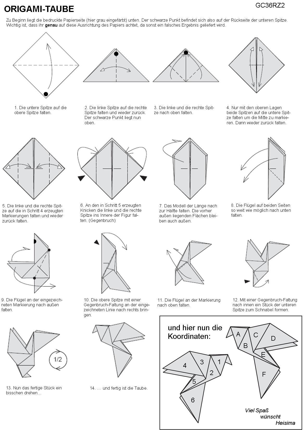 origami hummingbird diagram instructions 2000 v6 mustang stereo wiring faltanleitung jpg 1 1721 651 pixels pinterest