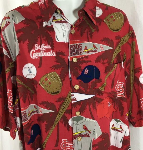 St Louis Cardinals Mlb Reyn Spooner Hawaiian Shirt Size