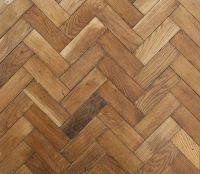 Reclaimed English Oak Herringbone Parquet flooring, no ...