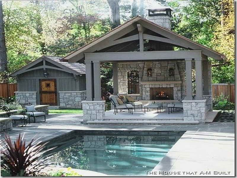 Old Fashioned Way To Get The Best Pool House Designs With Simple