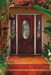 Fancy Front Entry Doors Decorated Presenting Beautiful ...