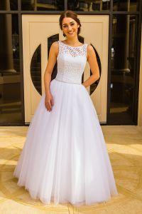 We have a variety of princess and grecian deb dresses ...
