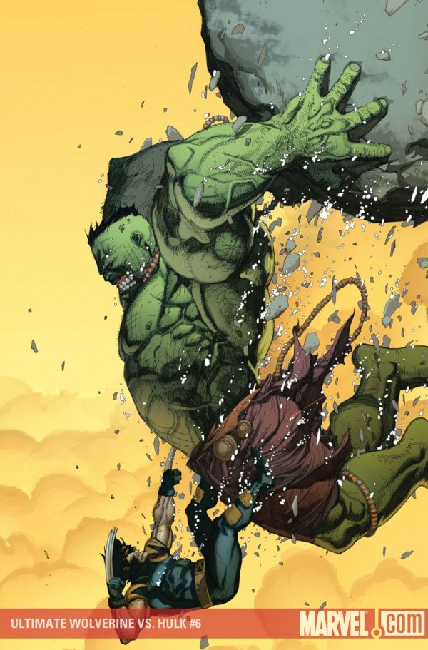 Wolverine Artist Leinil Yu Art Hulk And Comic