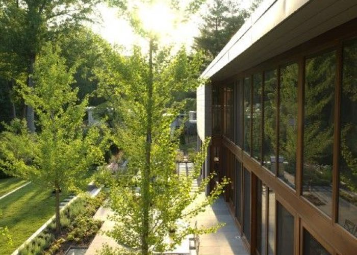 Woodvalley house contemporary exterior baltimore by ziger snead architects also estate of the art pinterest gardens