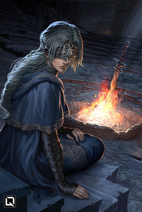 Cute Bloodborne Wallpaper I Tend To The Flame And Tend To Thee By Quirkilicious