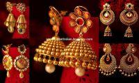 Gold Earrings from Kalyan | Jhumka Earrings | Pinterest ...