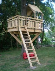 free diy tree house plans to make your childhood or adulthood dream  reality also rh pinterest