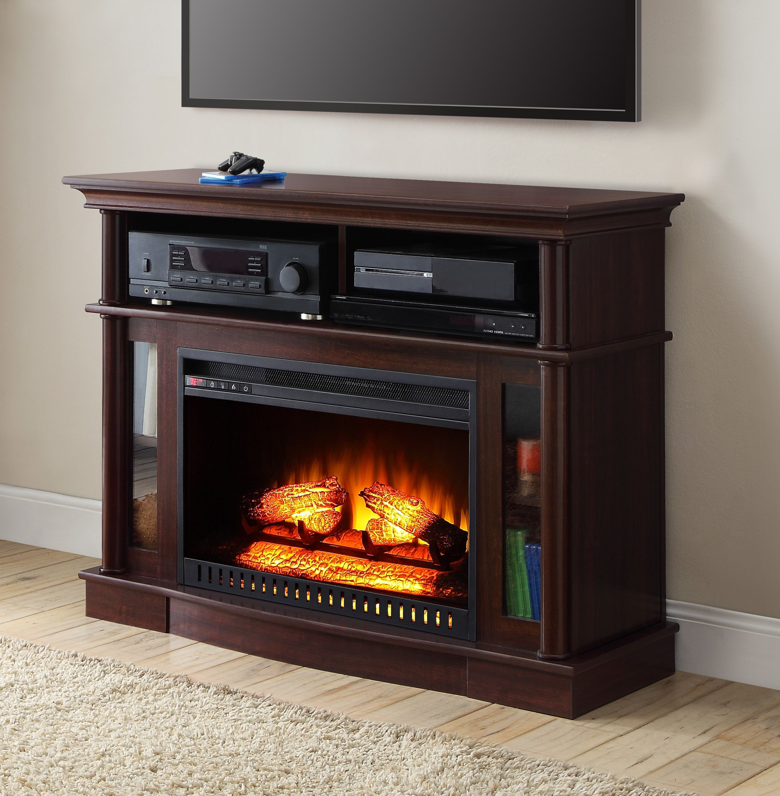 Better Homes And Gardens Ashwood Road Media Electric Fireplace For  Wallpaper Cheap Tv Stand Of Clearance Mobile High Quality