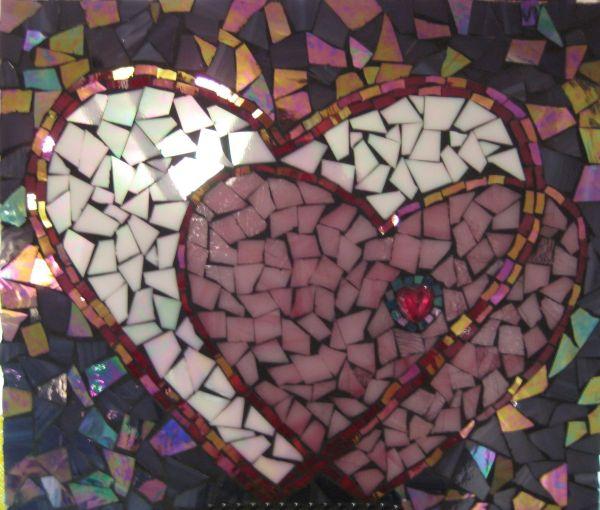 Heart Mosaic Art
