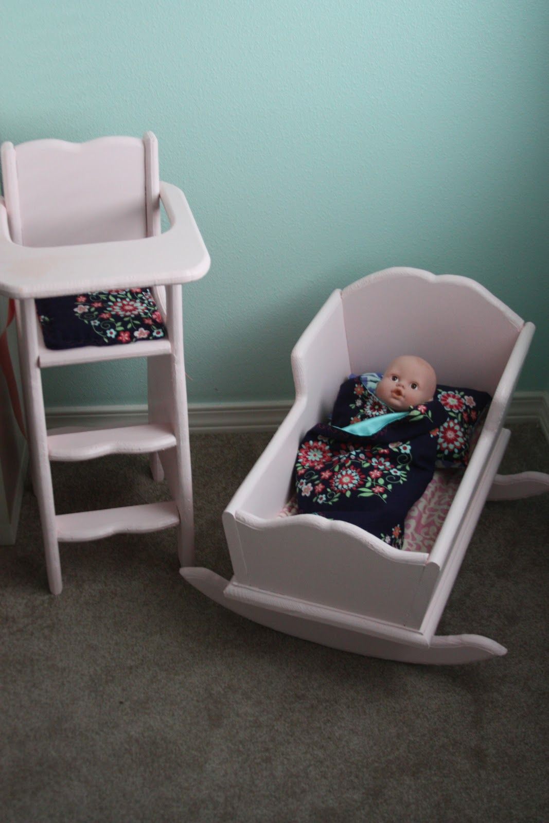 baby boy doll high chair back cover how to build a cradle and highchair  beingbrook