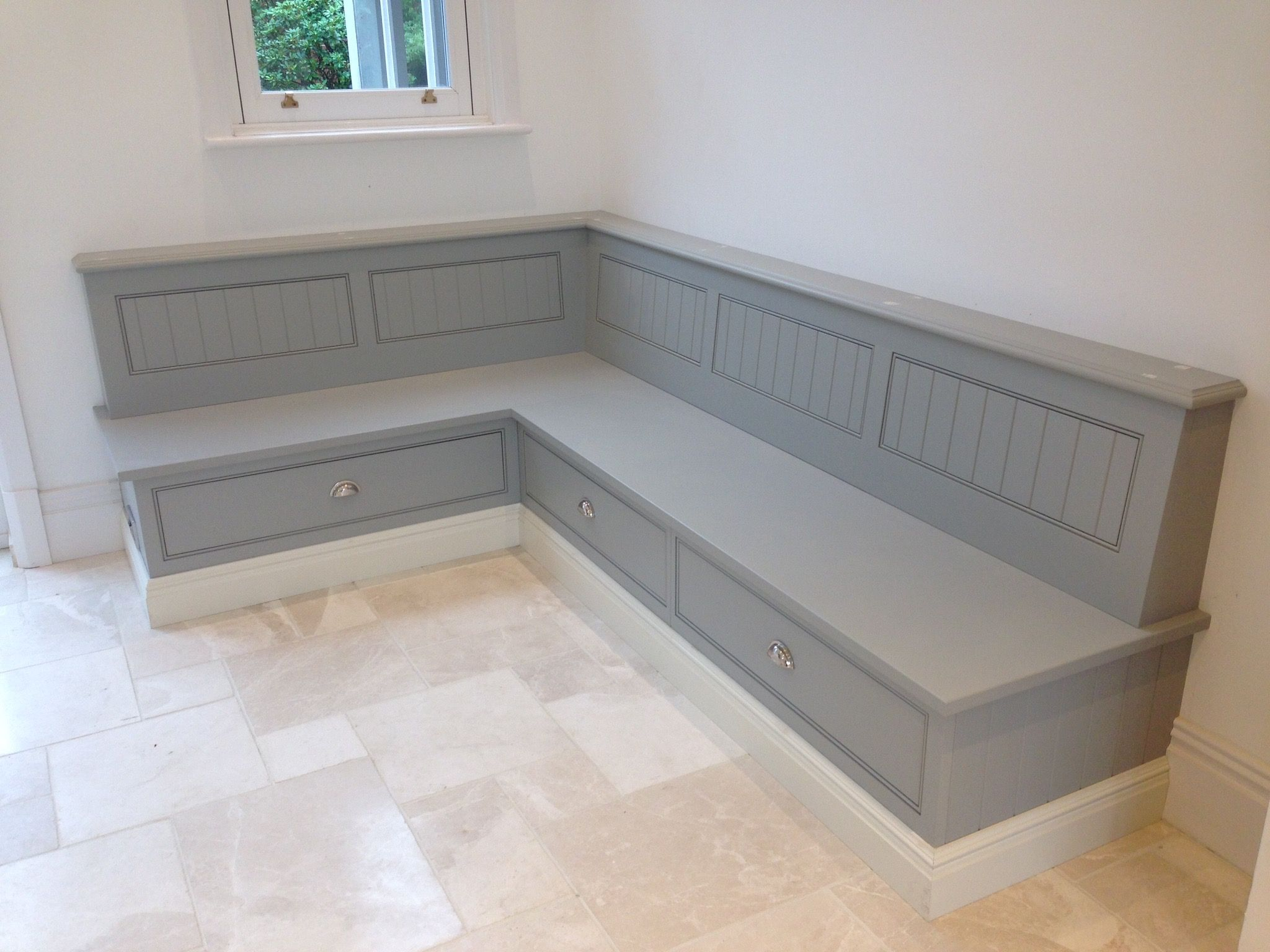 Tom Howley Bench Seat with storage  Cottage  Pinterest