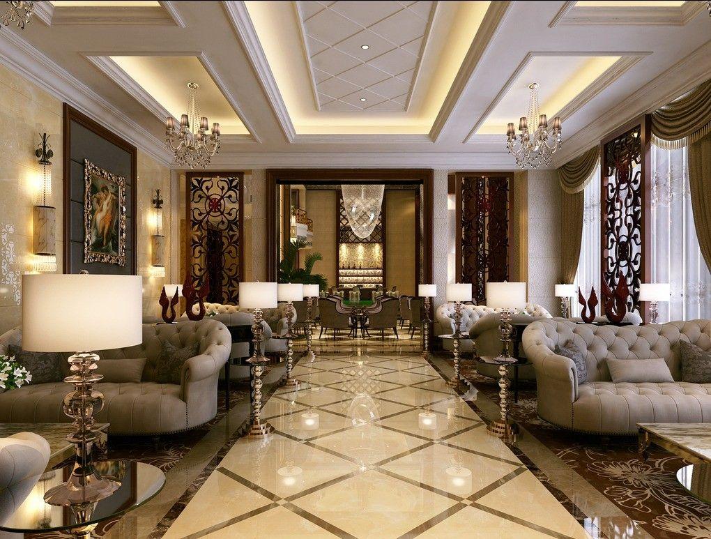 30 Luxury Living Room Design Ideas Receptions Office Reception
