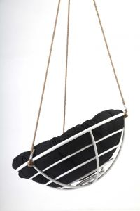 Outdoor Hanging Papasan Chair For Seating Idea Papsan